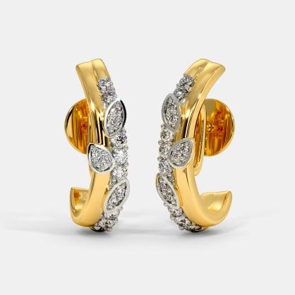 The Diti J Hoop Earrings