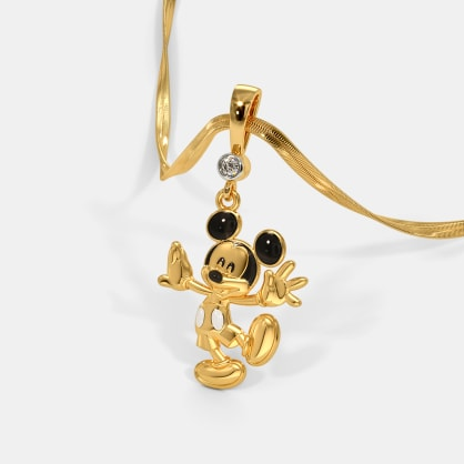 The Chirpy Mickey Pendant For Kids
