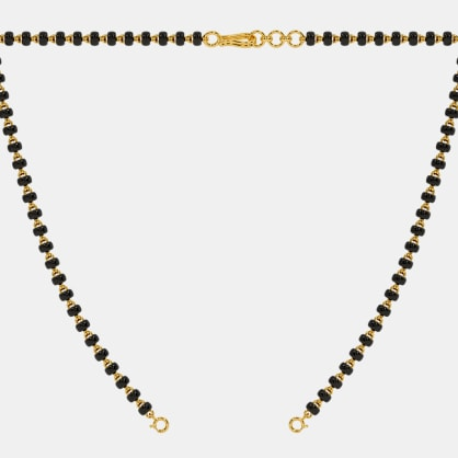 The Mangalsutra Single Line Open Chain With Lock