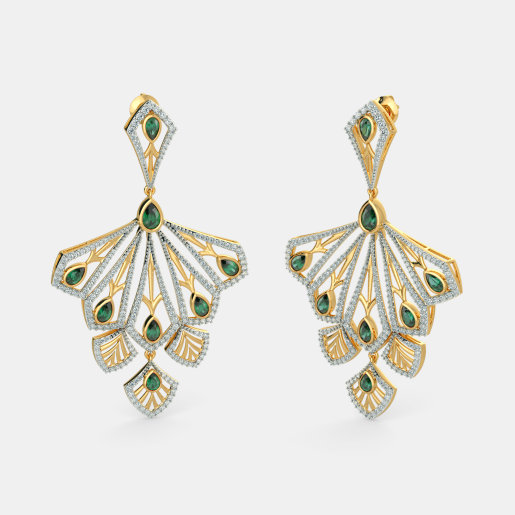 The Zohra Drop Earrings