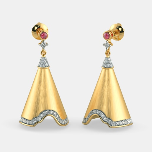 The Grandeur Drop Earrings