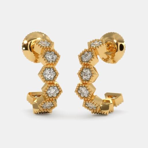 The Vivienne Hoop Earrings