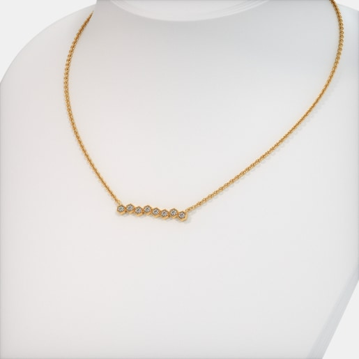 The Vivienne Bar Necklace