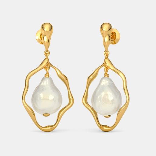 The Barocco Drop Earrings