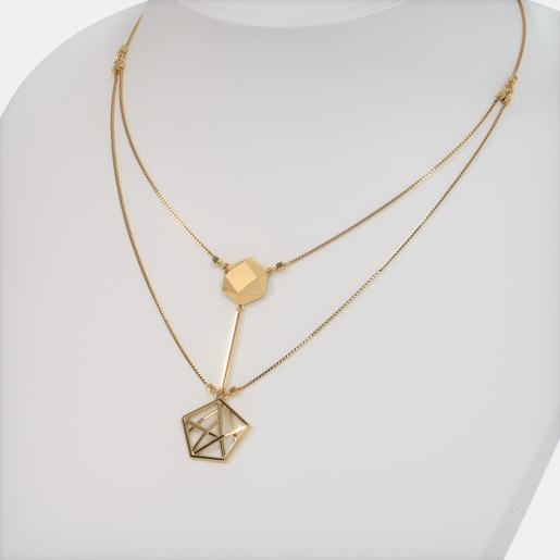 The Aeonic Axis Necklace
