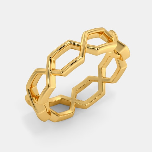 The Hexahelix Thumb Ring