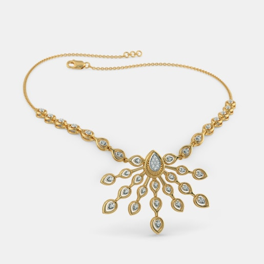 fa41e27ffc32f Gold Necklaces - Buy 250+ Gold Necklace Designs Online in India 2019 ...