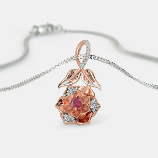 The Summer Rose Pendant