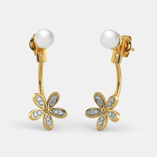 The Anuhya Front Back Earrings