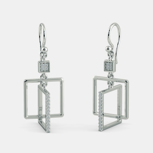 The Cesare Orbit Drop Earrings