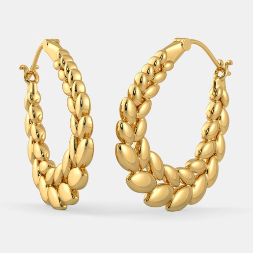 The Helen Hoop Earrings