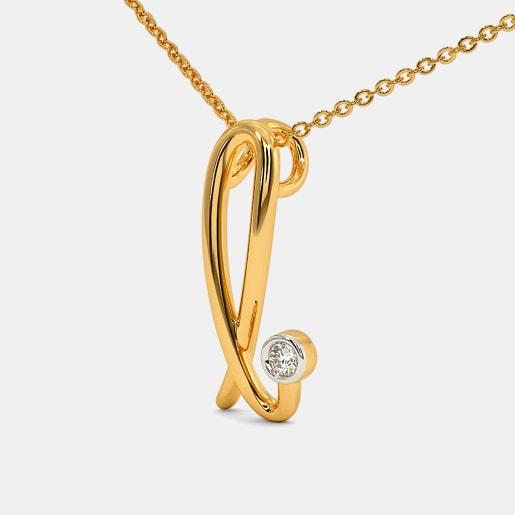 The Cursive L Necklace