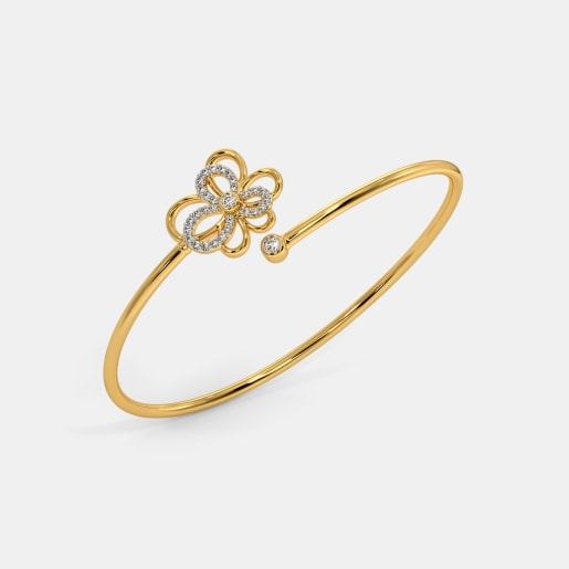 The Geovana Twister Bangle