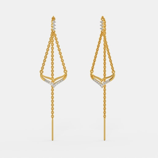 The Aviva Sui Dhaga Earrings