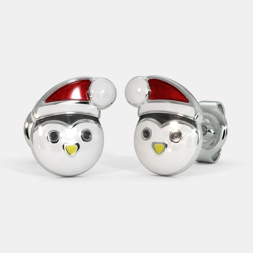 The Pretty Penguin Kids Stud Earrings