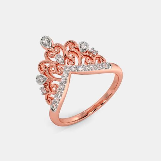 The Genevra Crown Ring