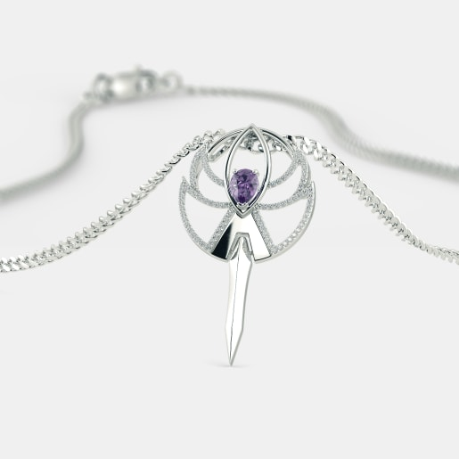 The Edgy Femme Pendant