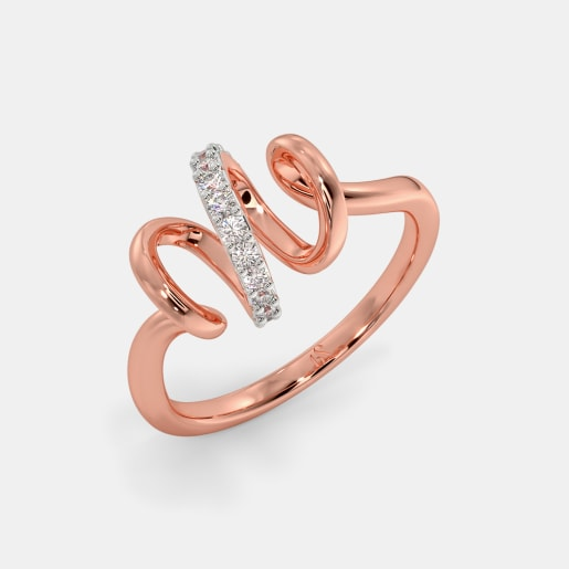 The Graceful Ribbon Ring