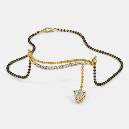 The Glimmer Heart Mangalsutra