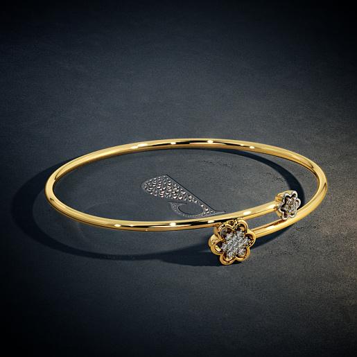 768e6bd4572 Buy Gold Bangle Designs Online in India 2019   BlueStone.com