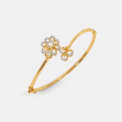 The Firoza Oval Bangle