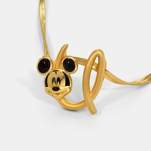 The U For Unique Mickey Pendant For Kids