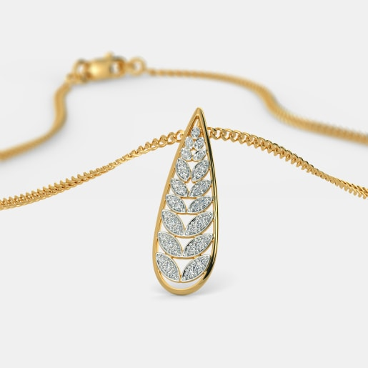 The Playful Leaves Pendant