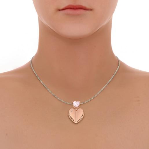The Rosalie Heart Pendant