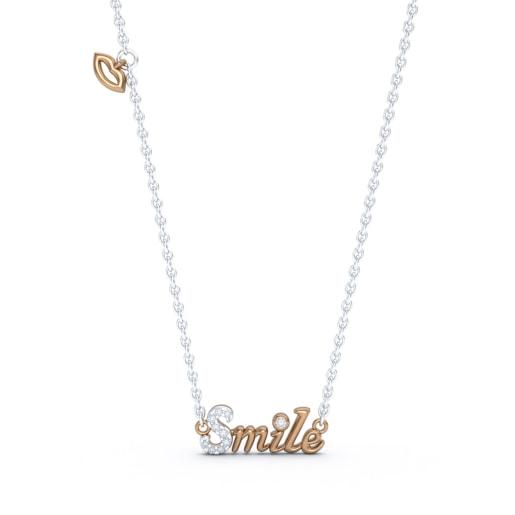 The Smile Script Necklace