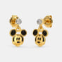 The Cool Mickey Drop Earrings For Kids